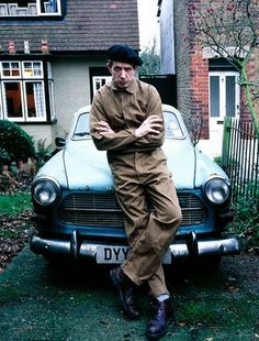 Billy Childish 03 with Volvo amazon