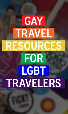 Your Ultimate Guide to LGBT Gay Travel Resources - http://travelsofadam.com/2017/06/gay-travel-resources/