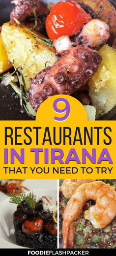 Traveling to Tirana, Albania, soon? Then you need to check out these 9 amazing restaurants. From gourmet seafood at fine dining spots to yummi burgers and sushi, you won't go hungry for sure! Europe Destinations, Europe Travel Tips, Travel Articles, Travel Hacks, Travel Advice, Holiday Destinations, Travel Ideas, Travel Inspiration, Festivals