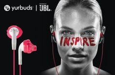 Běžecká sluchátka YURBUDS                    Inspire 100