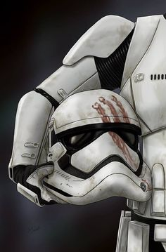 Star Wars: Stormtrooper Finn by Scott Zambelli Star Wars Film, T-shirt Star Wars, Star Wars Helmet, Star Wars Fan Art, Star Wars Gifts, Star Wars Poster, Images Star Wars, Star Wars Pictures, Star Wars Collection