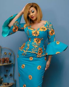 today's Ankara styles catalogue is an amazing view of latest African styles for the African women. These African dresses styles looks nice and gorgeo African Print Dress Designs, African Print Dresses, African Dress, African Design, Ankara Designs, African Prints, African Fabric, African Inspired Fashion, Latest African Fashion Dresses