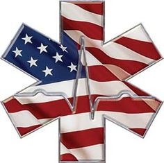 Image detail for -Star of Life EMS Decal with Heart Beat :: EMS, MFR, Medic, Paramedic ...