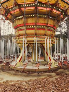 abandoned amusement park | American Adventures, next to White Water in Marietta, GA by Jeremiah Cowan