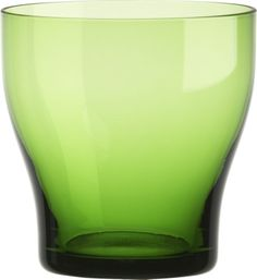 Welcome Green Double Old-Fashioned Glass Lime Sorbet, Old Fashioned Glass, Brunch Wedding, Hurricane Glass, Decorative Objects, Crate And Barrel, Crates, Tumbler, Drinking