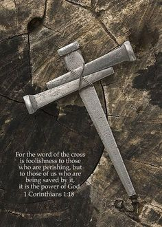 1 Corinthians 1:18. I just love this verse. It is the power of God and we are being saved by it.