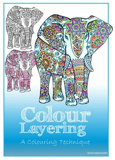 Three Elephants Coloured Featured at the #ThisIsHowWeRoll Link Party.