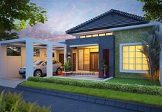 New Ideas For Apartment House Facade Architects Courtyard House Plans, Facade House, Minimalist House Design, Modern House Design, Modern Porch, Home Building Design, Modern Home Furniture, Roof Design, Home Fashion