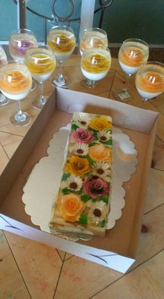 ideas for fruit design cup Jello Cake, Jello Desserts, Jello Recipes, Cookie Desserts, Mexican Food Recipes, Delicious Desserts, Dessert Recipes, Gelatina Jello, 3d Jelly Cake