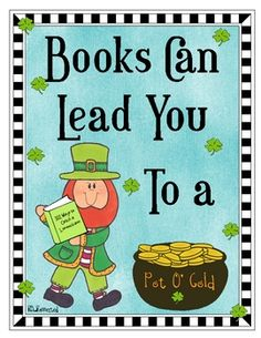 A St. Patrick's themed freebie just for you!Share the love of literacy through this fun little poster and activity I created using my