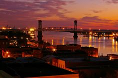 Cape Fear Memorial Bridge.  Wilmington, NC.