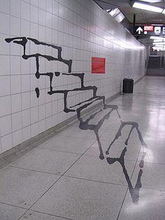 ilusiones ópticas de escalera