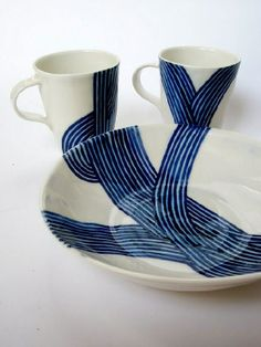 john newdigate ceramics - into the blue