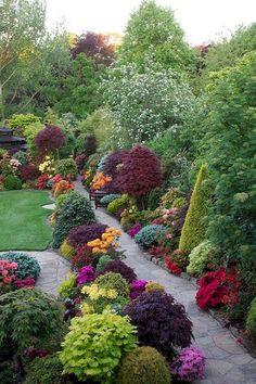 120 stunning romantic backyard garden ideas on a budge (40)