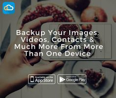 Backup & Share everything directly from the cloud