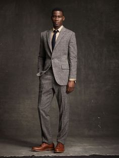 Smooth suit, I don't have a grey one that fits this well