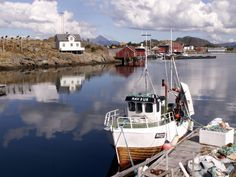 A beautiful place above the Arctic Circle:  Ballstad-Lofoten islands-Norway http://www.travelingwiththejones.com/2007/08/07/the-most-beautiful-fishing-village-ballstad-lofoten-islands-norway/