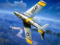 F-86F Korean War: 'Sabre Dance' (Harley Copic)