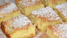 No Bake Desserts, Dessert Recipes, Magic Custard Cake, Tasty, Yummy Food, Hungarian Recipes, Food And Drink, Sweets, Healthy Recipes