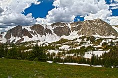 Medicine Bow Mountains, Wyoming, by Richkat Photography, via Flickr