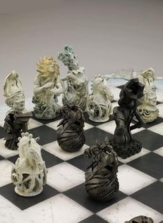 Chess Set - by Gil Bruvel