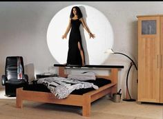 Bett aus dam Jahr 1998 mit Catana