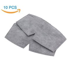 Pack-10 Pcs Antibacterial Activated Carbon Filters - WITERY Anti Dust / Anti-fog - Design For Antibacterial Activated Carbon Mask Adjustable Earloop Mouth Mask -- Sensational bargains just a click away : Beauty products 99 cent