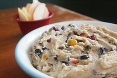 Paleo-ized Monster Cookie Dough Dip by @Stacy of Paleo Parents #paleo(ish)