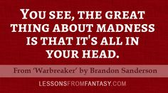 'Warbreaker' by Brandon Sanderson | Lessons From Fantasy
