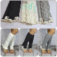 Hey, I found this really awesome Etsy listing at https://www.etsy.com/listing/170525324/2-buttons-ruffle-leg-warmers-adult-leg