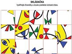 Pexesa a puzzle Montessori, Kindergarten, Preschool, Puzzle, Logos, Handmade, Education, Kites, Fall
