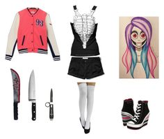 """""""Kelly the Killer Outfit"""" by roesia ❤ liked on Polyvore featuring art"""