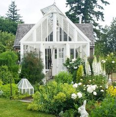 Dream greenhouse and Potting Shed #greenhouse