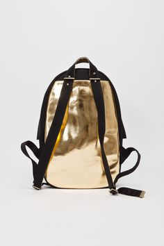 Shell Backpack Black / Gold - Haerfest