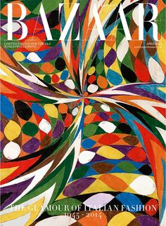 Limited edition Emilio Pucci Harpers bazaar April issue covers :: Harper's BAZAAR