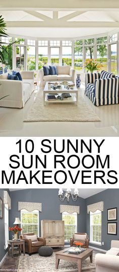 Because nothing is better than a bright, beautiful, sunny room!
