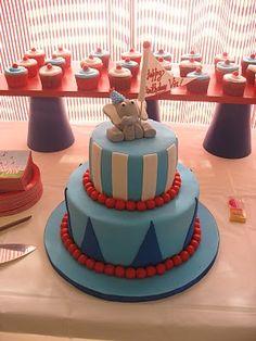 Birthday Carnival Party Cake