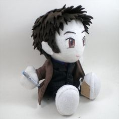 10th Doctor plush on Etsy!