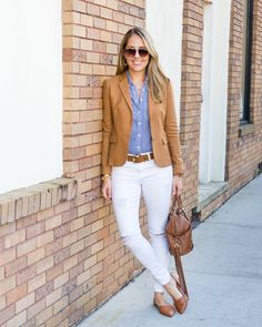 Inspiration: Keaton Row        Some outfits are like classic recipes. You may rework them a little over   the years, but you keep coming back again and again. Today's look reminds   me of thissimilar look from 2014as well as this outfit in 2016. Sometimes   a casual look with a preppy woo