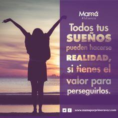 """Recuerda: """"Todos tus sueños pueden hacerse realidad, si tienes el valor para perseguirlos"""".  #TuEsencia #Sueños #MakeAWish"""