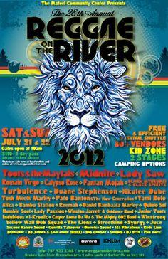 28th Annual Reggae on the River