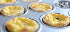 30 things you can make in a muffin tin