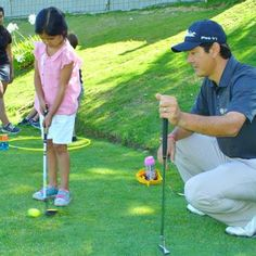Kids love learning golf at LCFCC!