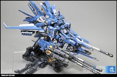 GUNDAM GUY: Project Gwen Ver.Ed 1/144 ReZEL FA+FW - By Ver.Ed