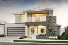 The Fraser © Ben Trager Homes | Perth Display Home | Home Facade Entry
