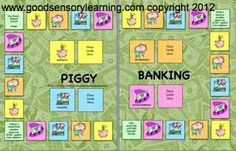 Piggy Banking is a fun downloadable game that teaches money management, vocabulary, and every day math.  Come learn more!