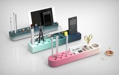 The Desk Organizer For Color Gradient Lovers Is Here