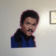 Star Wars Lando Magnet by CastleMcQuade on Etsy