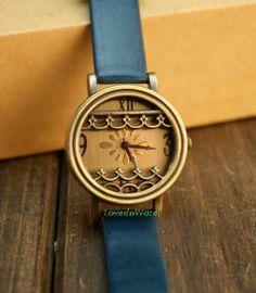 Unique Watches for Women | Leather Women Wrist Watch pure cutout unique by LovedoWatch