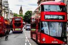 Las 10 mejores lineas de bus en Londres.